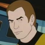 William Shatner Animated Captain Kirk Star Trek
