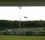 Plane crash at baseball game