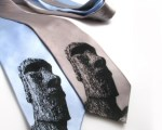 Superlative Etsy Finds #4: Moai Ties, Altered Portraits, and Tiny Worlds