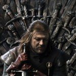Sean Bean as Ned Stark in Game of Thrones