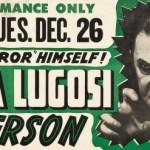 Bela Lugosi in Person