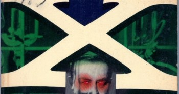 X: The Man With X-Ray Eyes book logo