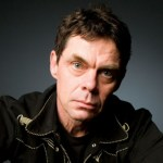 Rich Hall, the man in black