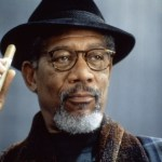 Morgan Freeman with cigar