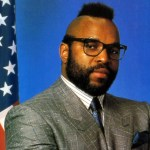 Mr. T in a suit
