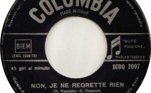 Edith Piaf: Non, Je Ne Regrette Rien