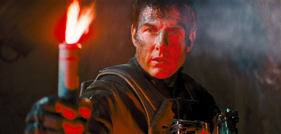 Tom Cruise as Cage from Edge of Tomorrow
