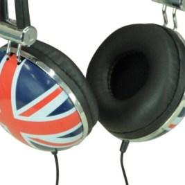 Union Jack Headphones