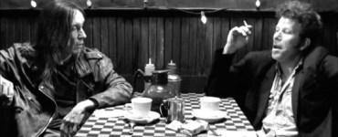 Iggy Pop and Tom Waits