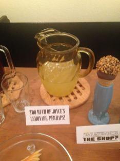 Too much of Joyce's lemonade, perhaps!