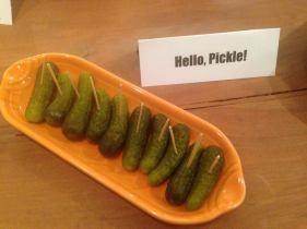 Hello, pickle!