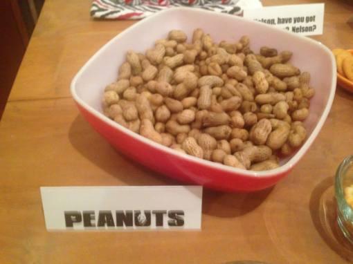 """""""Would anyone like...a peanut?"""""""