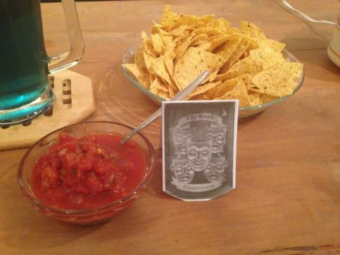 """The Good Companions: """"Are there any better companions that chips and salsa?"""""""