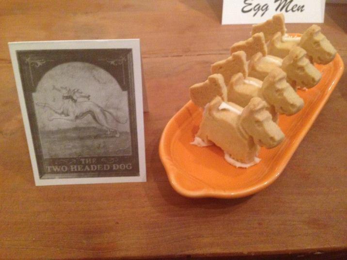 The Two-Headed Dog: two-headed Scottie Shortbread cookies