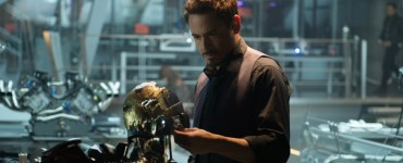 Robert Downey Jr. as Tony Stark in Avengers: Age of Ultron