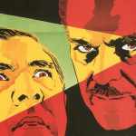 Bela Lugosi and Boris Karloff in Black Friday (1940)