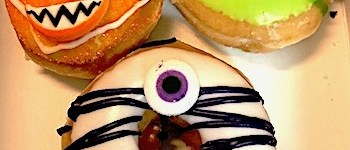 Krispy Kreme Monster Halloween Donuts