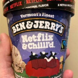 Ben & Jerry's Netflix & Chill'd Ice Cream