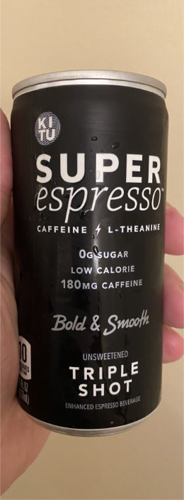Kitu Super Espresso Triple Shot