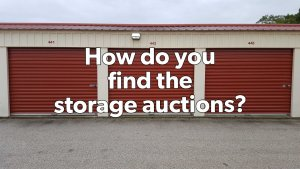 How Do You Find Storage Auctions? (Research)