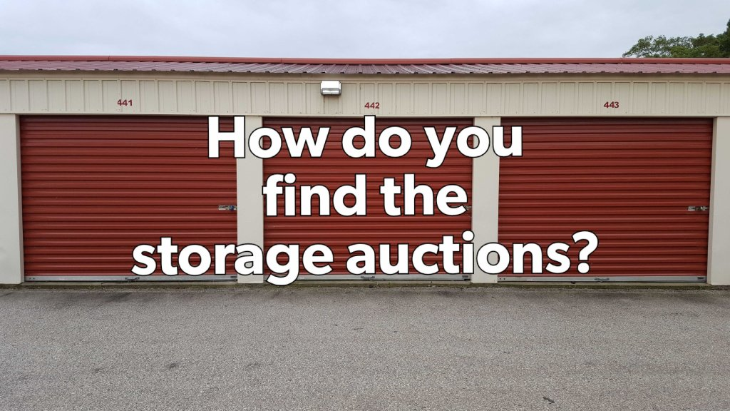 storage auctions with abandoned storage units ready for auction