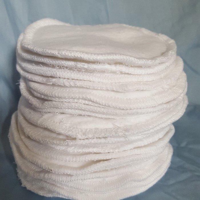"On Etsy / Reusable 100% Cotton Nursing Pads / Reusable Cotton Breastfeeding Pads 5"""