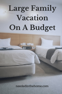 Large Family Vacation On A BudgetWith An Indoor Waterpark
