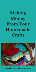 Making Money From Your Homemade Crafts
