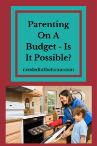 Parenting On A Budget – Is It Possible?