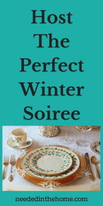 Host The Perfect Winter Soiree