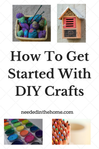 How To Get Started With DIY Crafts