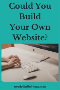 Could You Build Your Own Website?