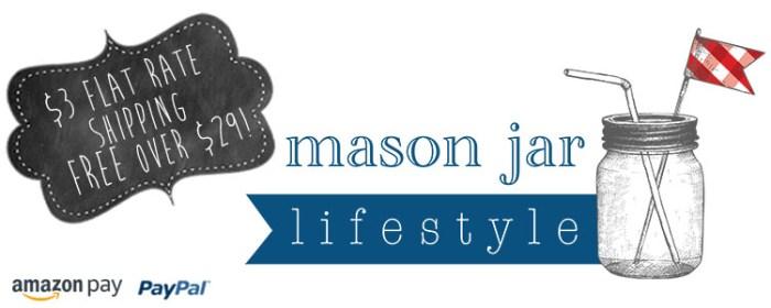 mason jar lifestyle logo