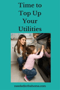 Time to Top Up Your Utilities