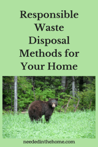 Responsible Waste Disposal Methods for Your Home