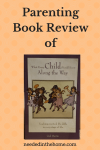 Product Review of What Every Child Should Know Along The Way by Gail Martin