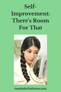 Self-Improvement: There's Room For That