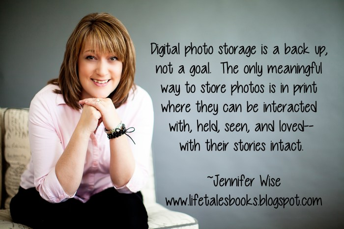 Moving with your photos - image photo Jennifer Wise digital photo storage is a back up, not a goal