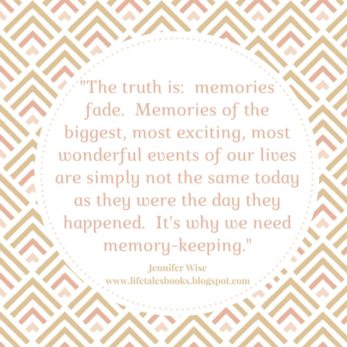 Moving with your photos image quote memories fade