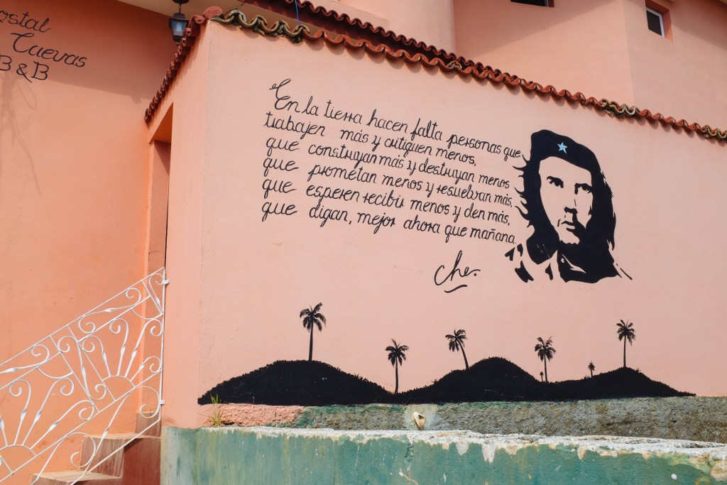 No shortage of Che sightings while in Cuba.