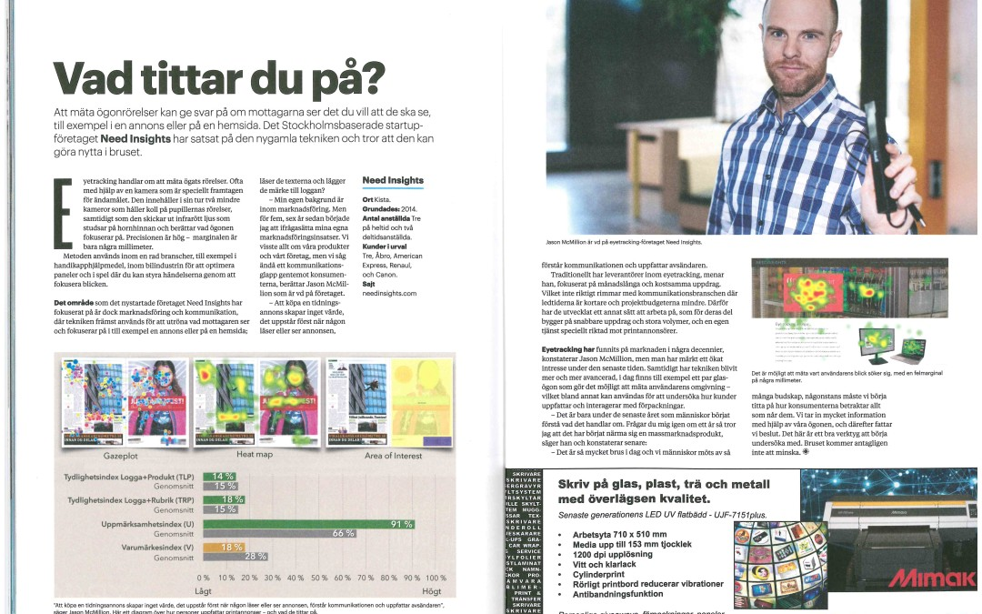 Intervju i tidningen Sign & Print