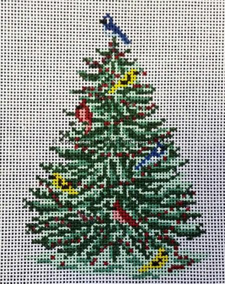 xmas bird tree