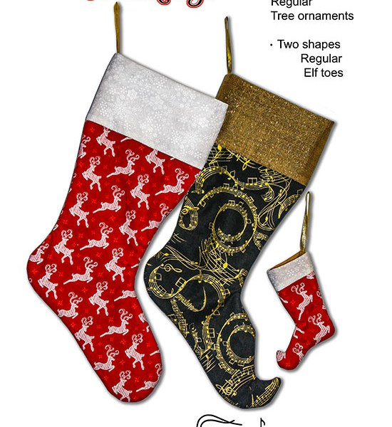 Merry Christmas Stockings Front Cover