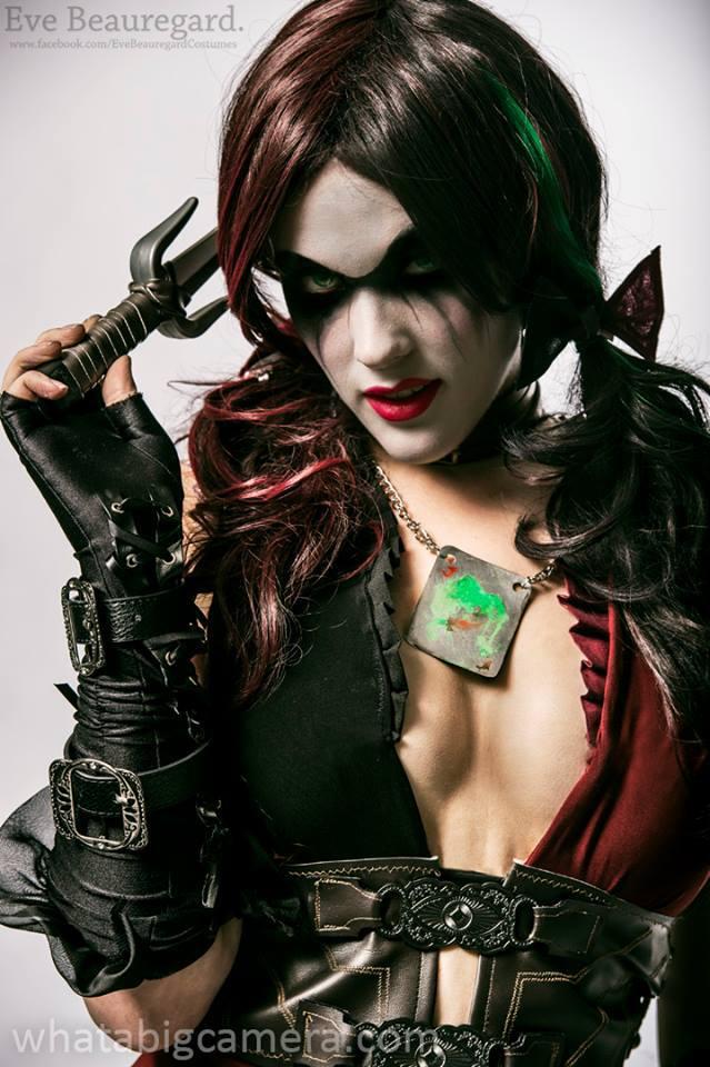 Eve Beauregard as Harley Quinn