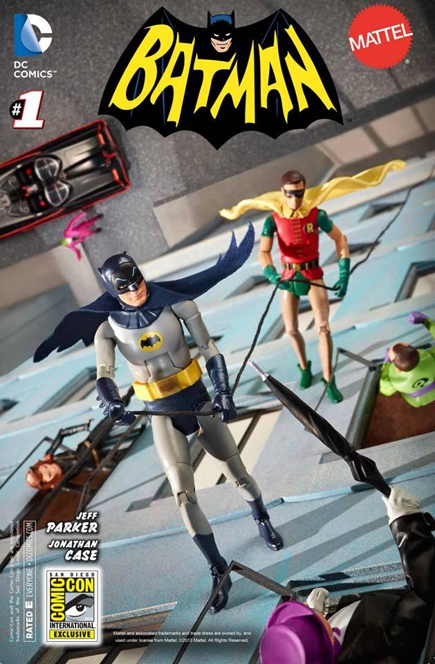 Batman '66 #1 SDCC Exclusive Cover