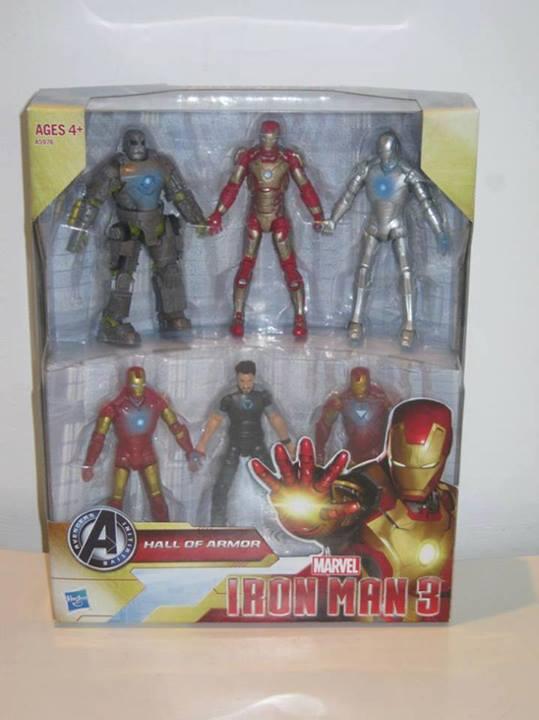 Iron Man 3 Hall of Armor Box Set