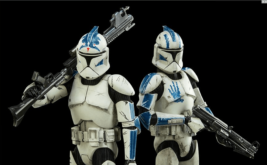 Clone Troopers: Echo and Fives 2-Pack from Sideshow