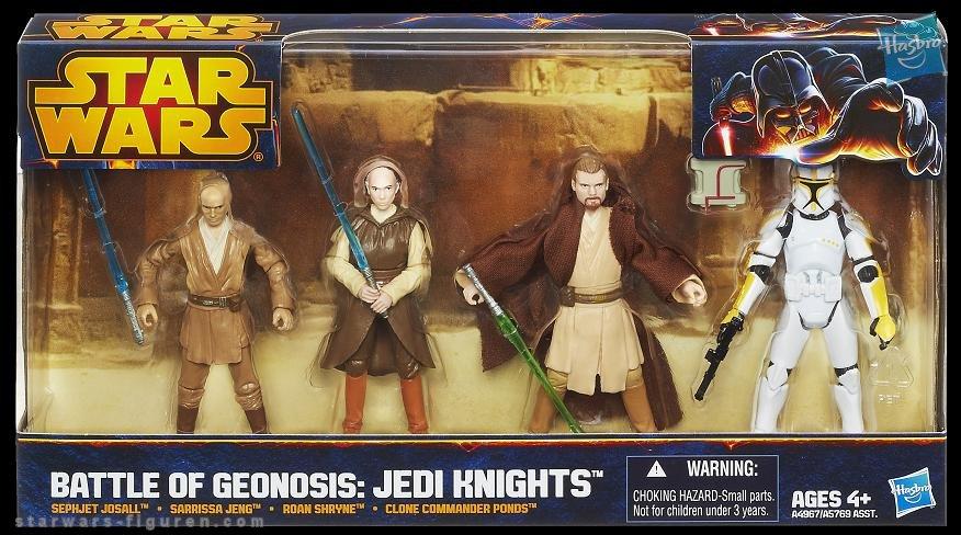 Star Wars Battle Of Geonosis: Jedi Knights Multipacks Revealed!