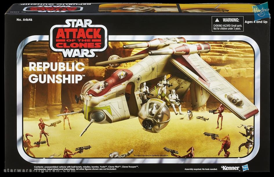 The Vintage Collection Republic Gunship Revealed!