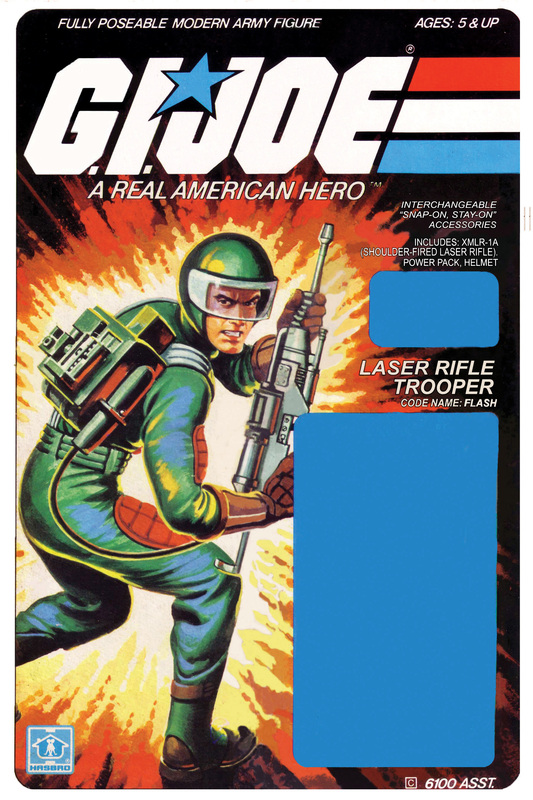 G.I. Joe Card Art 1982!